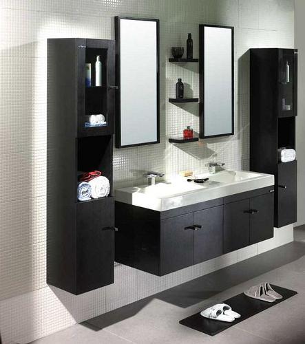 Łazienka z nowoczesnymi meblami
