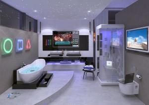 Tak może wyglądać nowoczesna łazienka