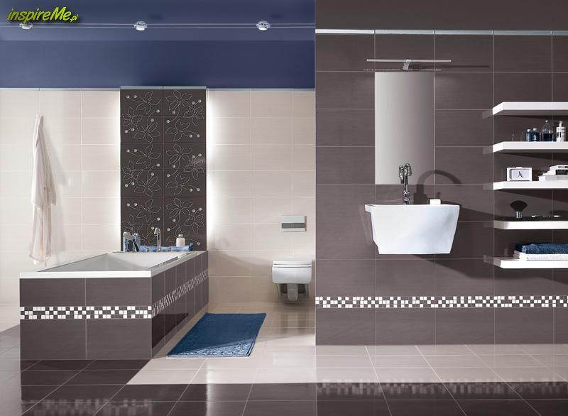 Przykład aranżacji nowoczesnej łazienki