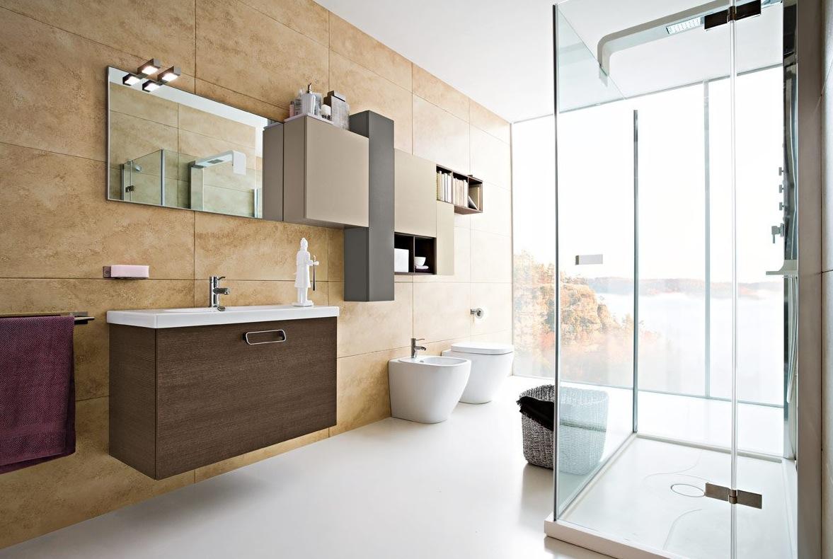 Pierwsza aranżacja nowoczesnej łazienki