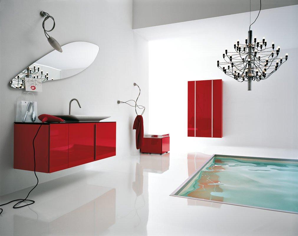 Druga aranżacja nowoczesnej łazienki
