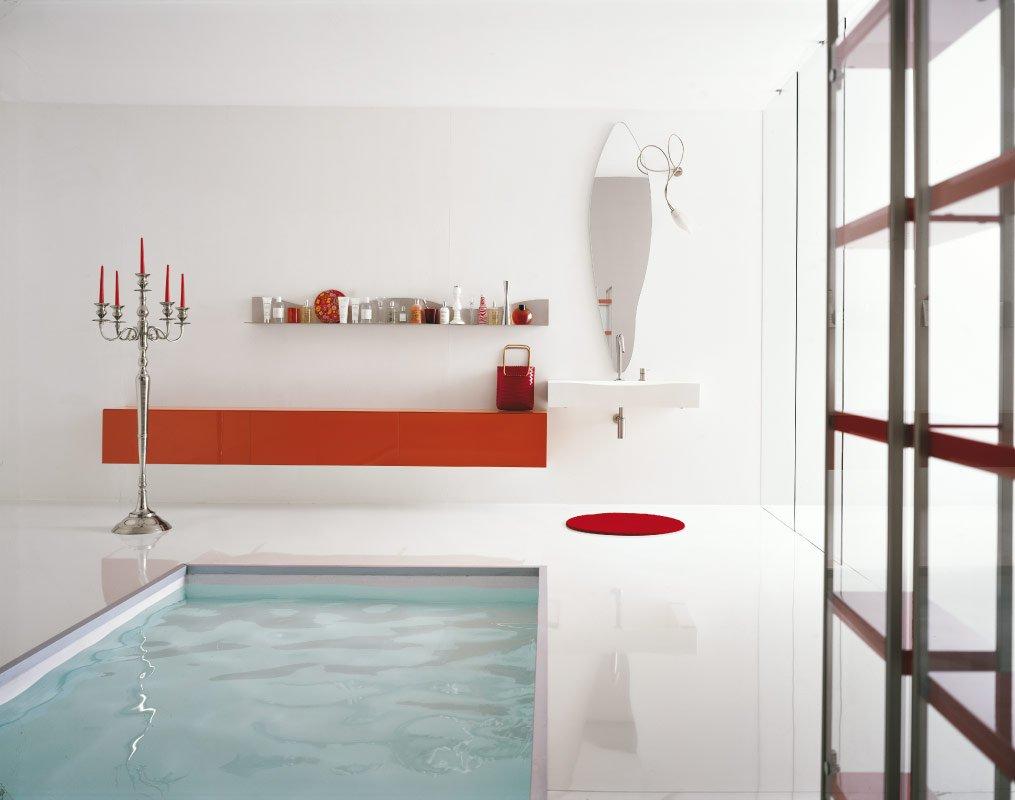 Trzecia aranżacja nowoczesnej łazienki