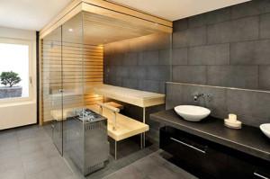 Przykładowy projekt nowoczesnej sauny