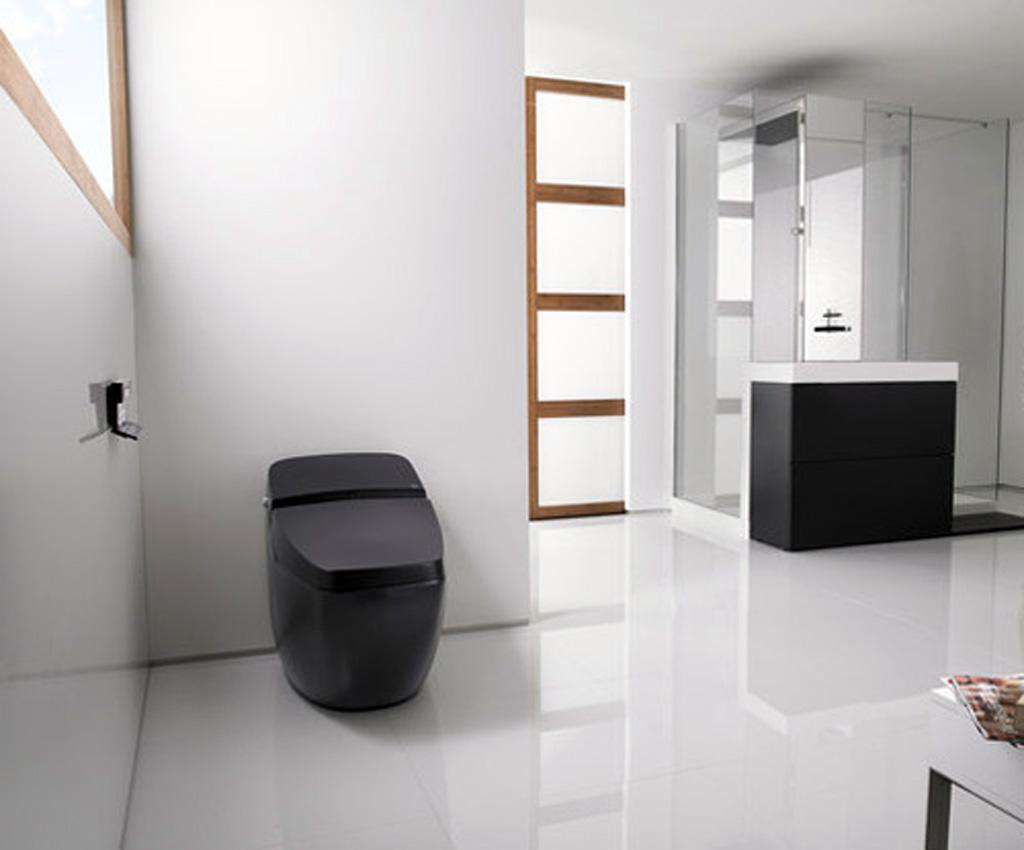 Nowoczesna toaleta - przykładowa aranżacja