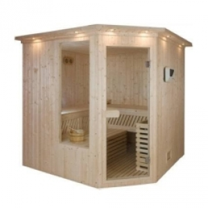 Typowa sauna tradycyjna