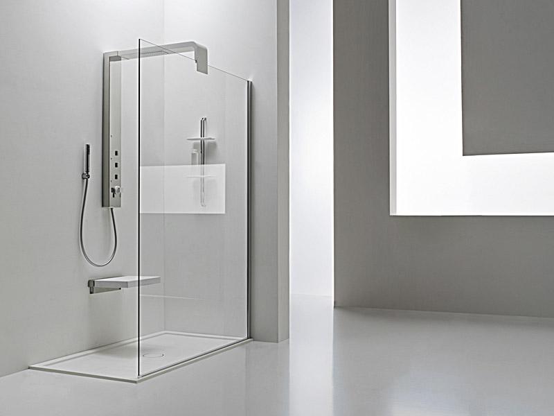 Stylowy, nowoczesny prysznic